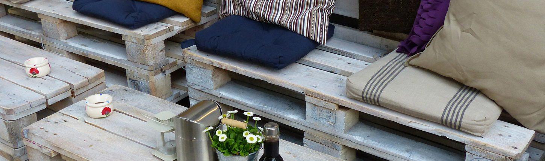 DIY: Möbel aus Paletten selber bauen